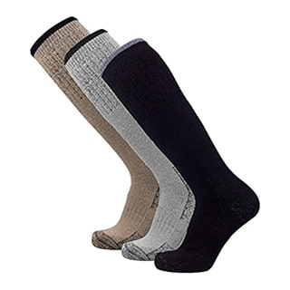 Socks with steel toe for working boots