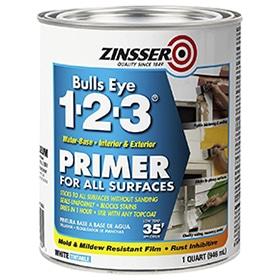 1-2-3 Primer by Rust-Oleum Zinsser – Best Primer for All Surfaces